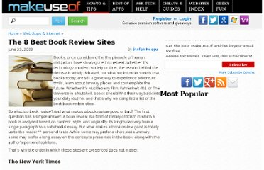 http://www.makeuseof.com/tag/decide-what-to-read-next-with-the-best-book-review-sites/