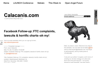 http://calacanis.com/2009/12/18/facebook-follow-up-ftc-complaints-lawsuits-horrific-charts-oh-my/