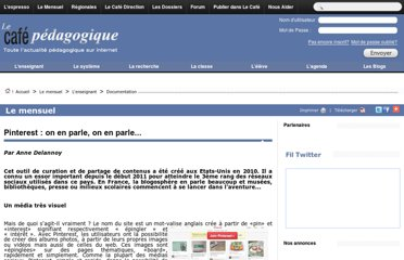 http://www.cafepedagogique.net/lemensuel/lenseignant/documentation/Pages/2012/135_CDI_Pinterest.aspx