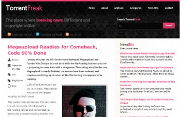 http://torrentfreak.com/megaupload-readies-for-comeback-code-90-done-120923/
