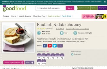 http://www.bbcgoodfood.com/recipes/5885/rhubarb-and-date-chutney
