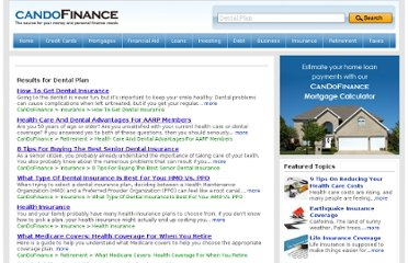 http://www.candofinance.com/topic/Dental%2BPlan/