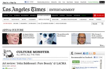 http://latimesblogs.latimes.com/culturemonster/2010/06/art-review-john-baldessari-pure-beauty-lacma.html