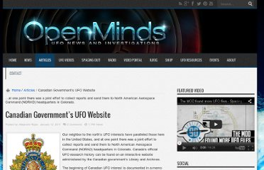 http://www.openminds.tv/canadian-ufo-website/
