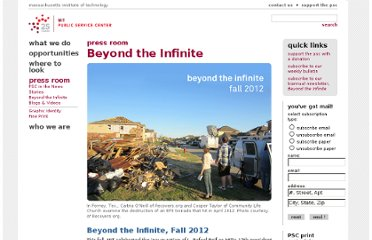 http://web.mit.edu/mitpsc/pressroom/beyond-the-infinite/index.html