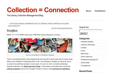 http://www.collectionconnection.alcts.ala.org/?p=130