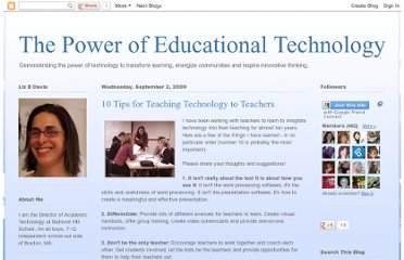http://edtechpower.blogspot.com/2009/09/10-tips-for-teaching-technology-to.html