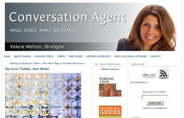 http://www.conversationagent.com/2009/02/youre-on-twitter-now-what.html