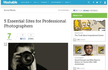 http://mashable.com/2009/12/28/5-essential-sites-photographers/