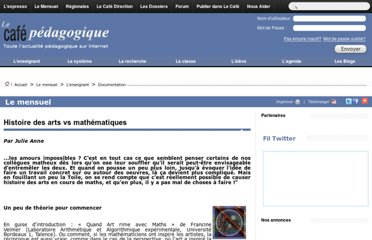 http://www.cafepedagogique.net/lemensuel/lenseignant/documentation/Pages/2012/135_CDI_HdAMaths.aspx
