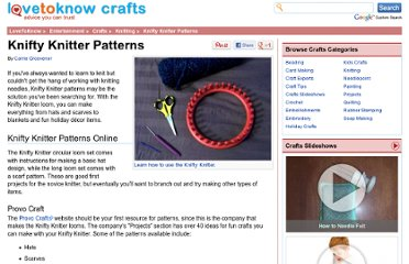 http://crafts.lovetoknow.com/wiki/Knifty_Knitter_Patterns
