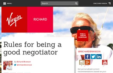 http://www.virgin.com/richard-branson/blog/rules-for-being-a-good-negotiator