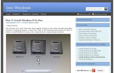http://www.intowindows.com/install-windows-8-on-mac/
