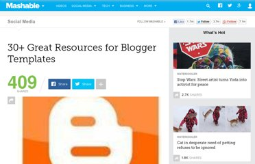 http://mashable.com/2008/12/22/blogger-template-resources/