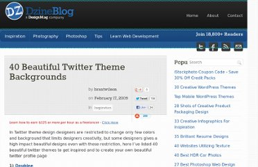 http://dzineblog.com/2009/02/40-beautiful-twitter-theme-backgrounds.html
