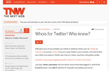http://thenextweb.com/2009/01/07/whois-for-twitter-who-knew/