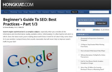 http://www.hongkiat.com/blog/beginners-guide-to-seo-best-practices-part-13/