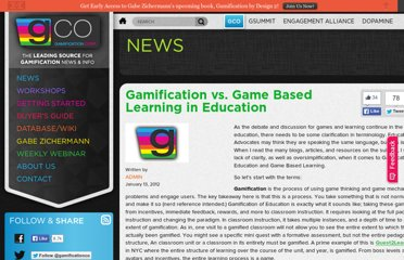 http://www.gamification.co/2012/01/13/gamification-vs-game-based-learning-in-education/