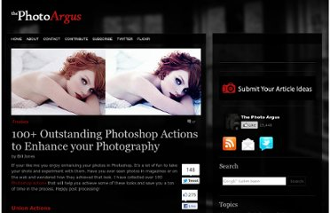 http://www.thephotoargus.com/freebies/100-outstanding-photoshop-actions-to-enhance-your-photography/