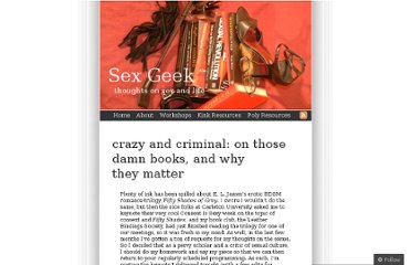 http://sexgeek.wordpress.com/2012/09/20/crazy-and-criminal-on-those-damn-books-and-why-they-matter/