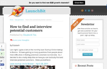 http://www.launchbit.com/blog/how-to-find-and-interview-potential-customers/