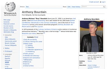http://en.wikipedia.org/wiki/Anthony_Bourdain
