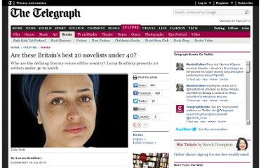 http://www.telegraph.co.uk/culture/books/7835258/Are-these-Britains-best-20-novelists-under-40.html