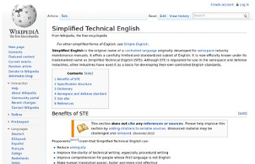 http://en.wikipedia.org/wiki/Simplified_Technical_English