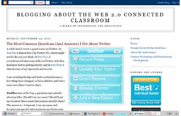 http://blog.web20classroom.org/2012/09/the-most-common-questions-and-answers-i.html