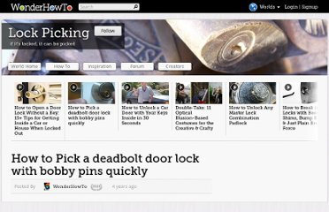 http://cons.wonderhowto.com/how-to/pick-deadbolt-door-lock-with-bobby-pins-quickly-283221/