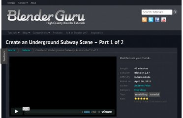http://www.blenderguru.com/videos/create-an-underground-subway-scene-part-1-of-2/