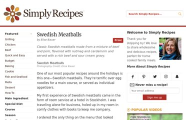 http://www.simplyrecipes.com/recipes/swedish_meatballs/