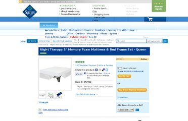 http://www.samsclub.com/sams/night-therapy-8-memory-foam-mattress-bed-frame-set-queen/prod711530.ip#reviews