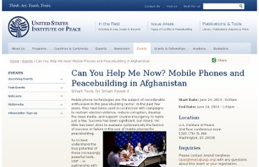 http://www.usip.org/events/can-you-help-me-now-mobile-phones-and-peacebuilding-in-afghanistan