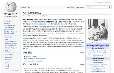 http://en.wikipedia.org/wiki/On_Certainty