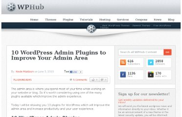 http://www.wphub.com/10-wordpress-admin-plugins-which-improve-your-admin-area/