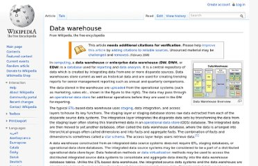 http://en.wikipedia.org/wiki/Data_warehouse