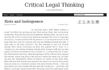 http://criticallegalthinking.com/2011/08/11/riots-and-ineloquence/