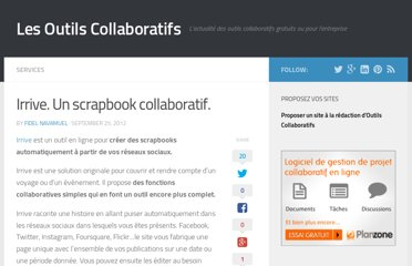 http://outilscollaboratifs.com/2012/09/irrive-un-scrapbook-collaboratif/