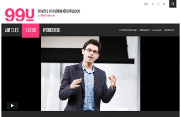 http://99u.com/videos/7061/Joshua-Foer-Step-Outside-Your-Comfort-Zone-and-Study-Yourself-Failing