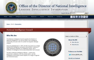 http://www.dni.gov/index.php/about/organization/national-intelligence-council-who-we-are
