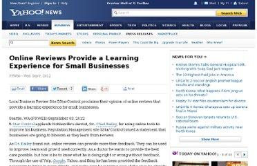 http://news.yahoo.com/online-reviews-learning-experience-small-businesses-141621236.html
