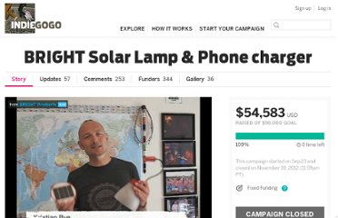 http://www.indiegogo.com/projects/bright-solar-lamp-phone-charger