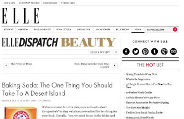 http://www.elle.com/news/beauty-makeup/baking-soda-the-one-thing-you-should-take-to-a-desert-island-10679