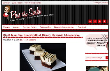 http://passthesushi.com/right-from-the-boardwalk-of-disney-brownie-cheesecake/