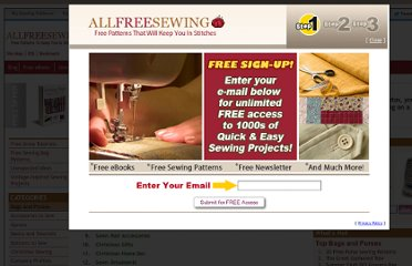 http://www.allfreesewing.com/site-map/cat/949#
