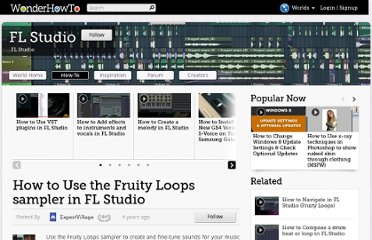 http://fl-studio.wonderhowto.com/how-to/use-fruity-loops-sampler-fl-studio-230365/