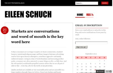 http://eileenschuch.com/2012/09/21/markets-are-conversations-and-word-of-mouth-is-the-key-word-here/