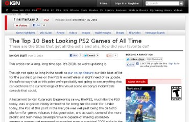 http://www.ign.com/articles/2010/05/07/the-top-10-best-looking-ps2-games-of-all-time