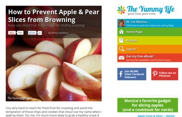 http://www.theyummylife.com/prevent_apple_and_pear_slices_from_browning